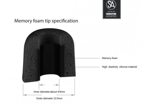 Signature Acoustics Memory Foam Tips